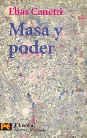 Cover of: Masa Y Poder / Mass and Power (Humanidades / Humanities)