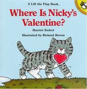 Cover of: Where is Nicky's valentine?