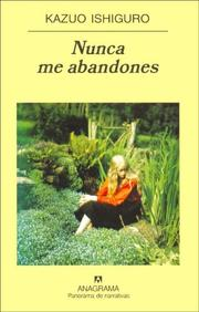 Cover of: Nunca Me Abandones
