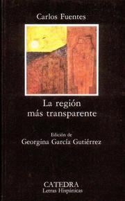 Cover of: La región más transparente