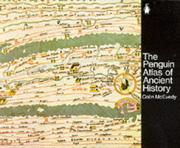 Cover of: The Penguin Atlas of Ancient History (Hist Atlas) | Colin McEvedy