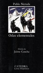 Cover of: Odas elementales