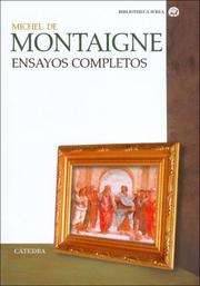 Cover of: Ensayos Completos/ Complete Essays