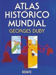 Cover of: Atlas Historico Mundial