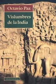 Cover of: Vislumbres de la India
