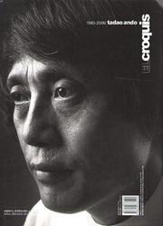 Cover of: Tadao Ando 1983-2000