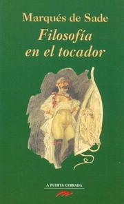Cover of: Filosofia En El Tocador