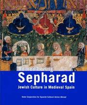 Cover of: Remembering Sepharad | Isidro Gonzalo Bango Torviso