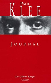 Cover of: Journal | Paul Klee