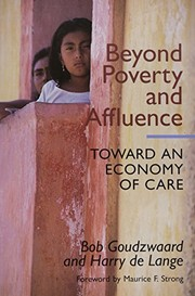 Cover of: Beyond Poverty and Affluence | World Council of Churches World Council of Churches