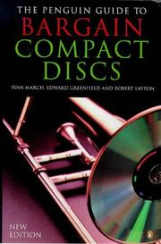 Cover of: The Penguin guide to bargain compact discs