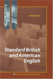 Cover of: Standard British And American English