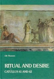 Cover of: Ritual and desire | Ole Thomsen