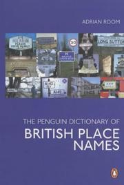 Cover of: The Penguin Dictionary of British Place Names
