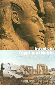 Cover of: Travels in Egypt and Nubia (The Great Adventures)