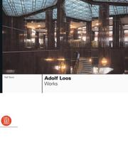 Cover of: Adolf Loos | Ralf Bock