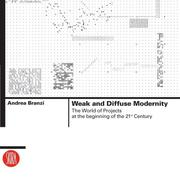 Cover of: Weak and Diffuse Modernity