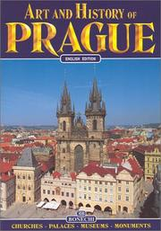 Cover of: Art & History of Prague