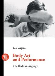 Cover of: Body Art and Performance