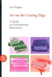 Cover of: Art on the Cutting Edge