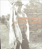 Cover of: Joseph Beuys | Lucrezia De Domizio Durini