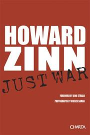 Cover of: Just war: by Howard Zinn