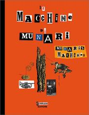 Cover of: Munari's Machines / Le Macchine di Munari