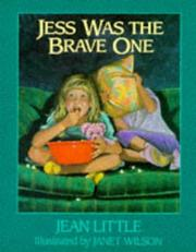 Cover of: Jess Was the Brave One