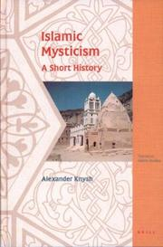 Cover of: Islamic mysticism: a short history