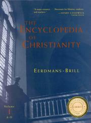 Cover of: The Encyclopedia of Christianity |