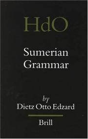 Cover of: Sumerian grammar