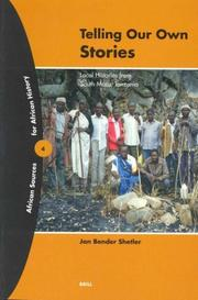 Cover of: Telling Our Own Stories | Jan Bender Shetler