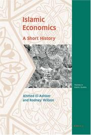 Cover of: Islamic Economics: A Short History (Themes in Islamic Studies)