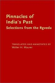 Cover of: Pinnacles of India