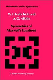 Cover of: Symmetries of Maxwell