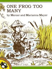 Cover of: One Frog Too Many | Mercer Mayer