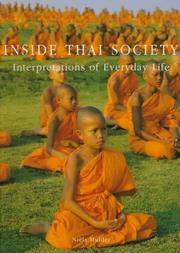 Inside Thai Society by Niels Mulder