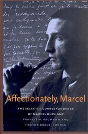 Cover of: Affectionately, Marcel