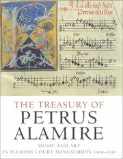 Cover of: The treasury of Petrus Alamire