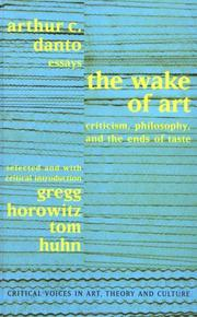 Cover of: The wake of art