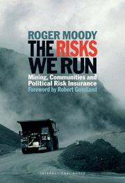 Cover of: The Risks We Run