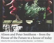 Cover of: Alison and Peter Smithson