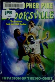 Invasion of the No Ones (Spooksville)
