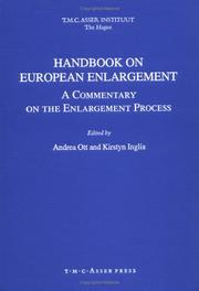 Cover of: Handbook on European Enlargement:A Commentary on the Enlargement Process