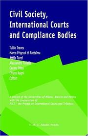 Cover of: Civil Society, International Courts and Compliance Bodies |