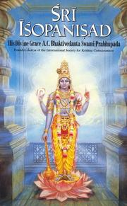 Cover of: Śrī Īśopaniṣad |
