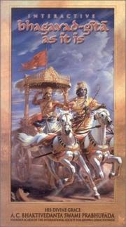 Cover of: Bhagavad-Gita As It Is