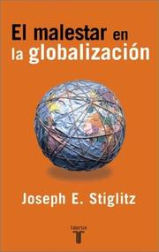 Cover of: El Malestar En La Globalizacion/globalization And Its Discontents