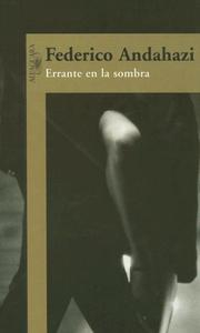 Cover of: Errante en la sombra
