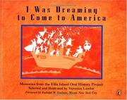 Cover of: I Was Dreaming to Come to America | Veronica  Lawlor